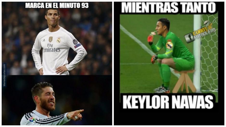 Desde Ramos, hasta CR7 y Keylor... todos pasaron por los memes. (MemeDeportes)