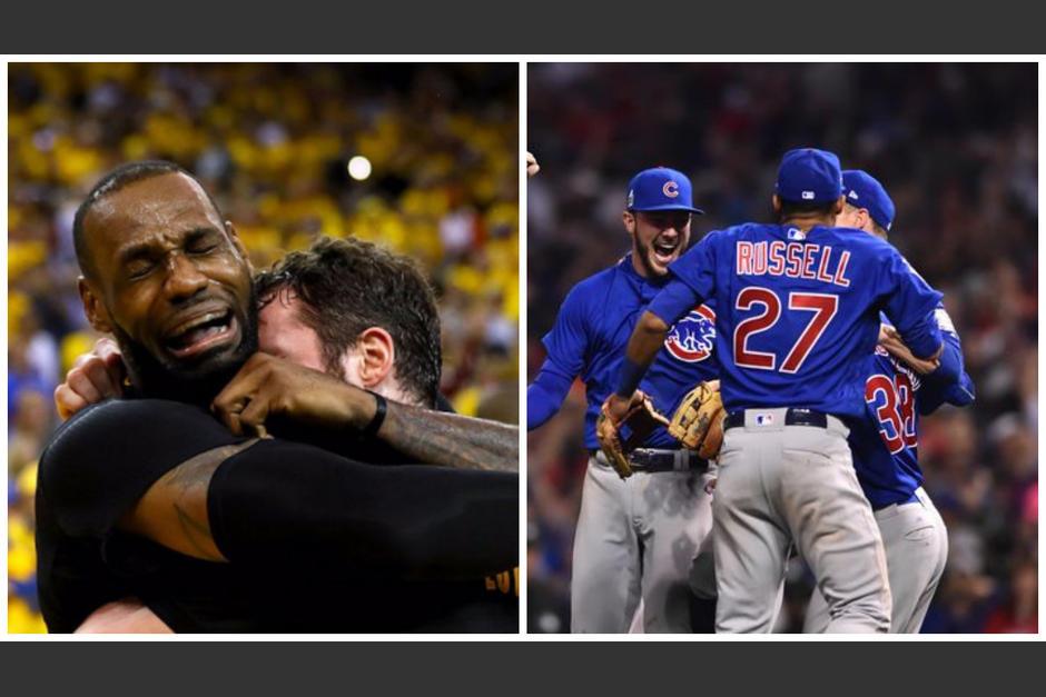 Cleveland y Chicago por fin conquistaron un título. (Fotos: NBA/AFP)