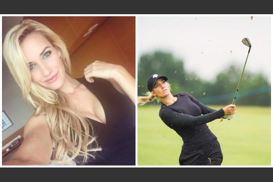 Paige tiene 23 años y es golfista profesional. (Instagram)