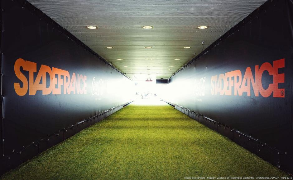 Vista de los pasillos del estadio de Francia. (Foto: Facebook/Stade de France)