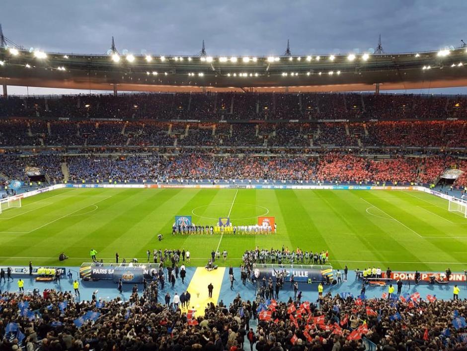 El estadio tiene capacidad para recibir a 80 mil aficionados. (Foto: Facebook/Stade de France)
