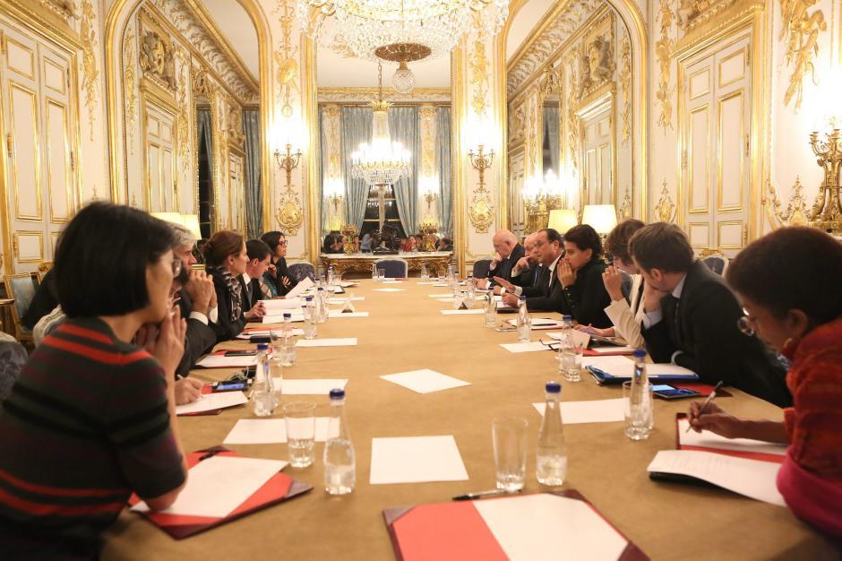 El presidente de Francia declaró alerta nacional y cerró las fronteras. (Foto: AFP)