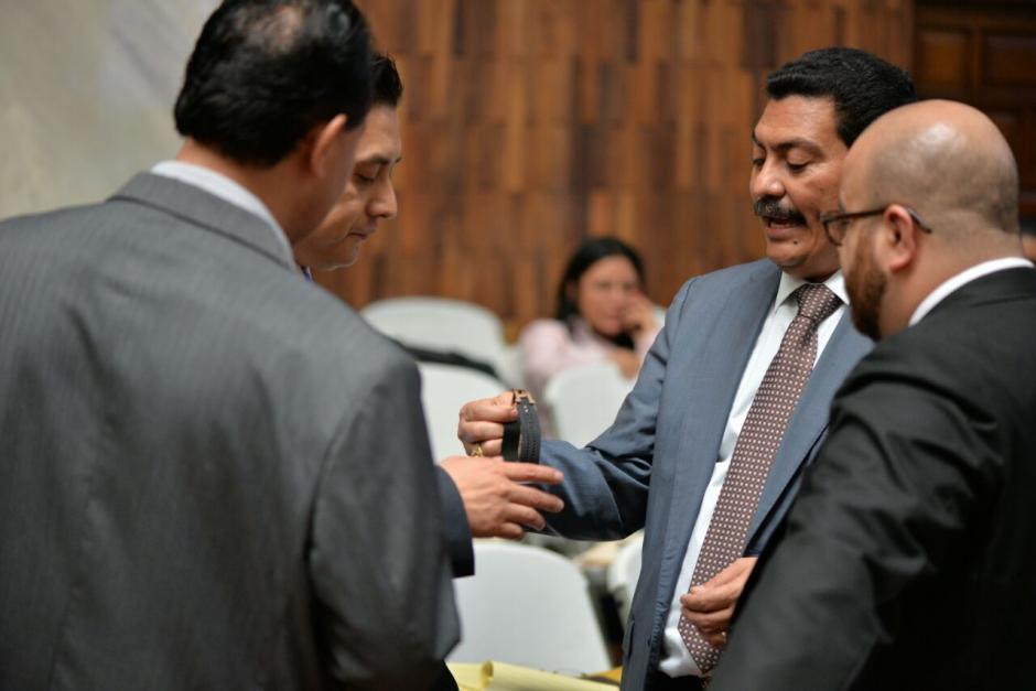 García Gudiel defiende también a Edín Barrientos. (Foto: Wilder López/Soy502)
