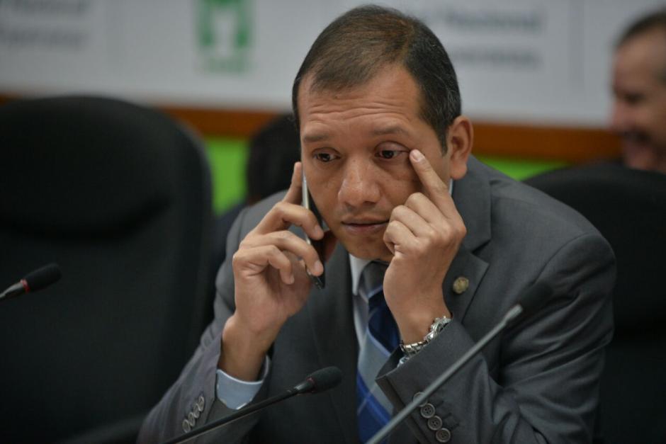 El Ministro de Gobernación niega haber trabajado con Melgar Padilla. (Foto: Wilder López/Soy502)