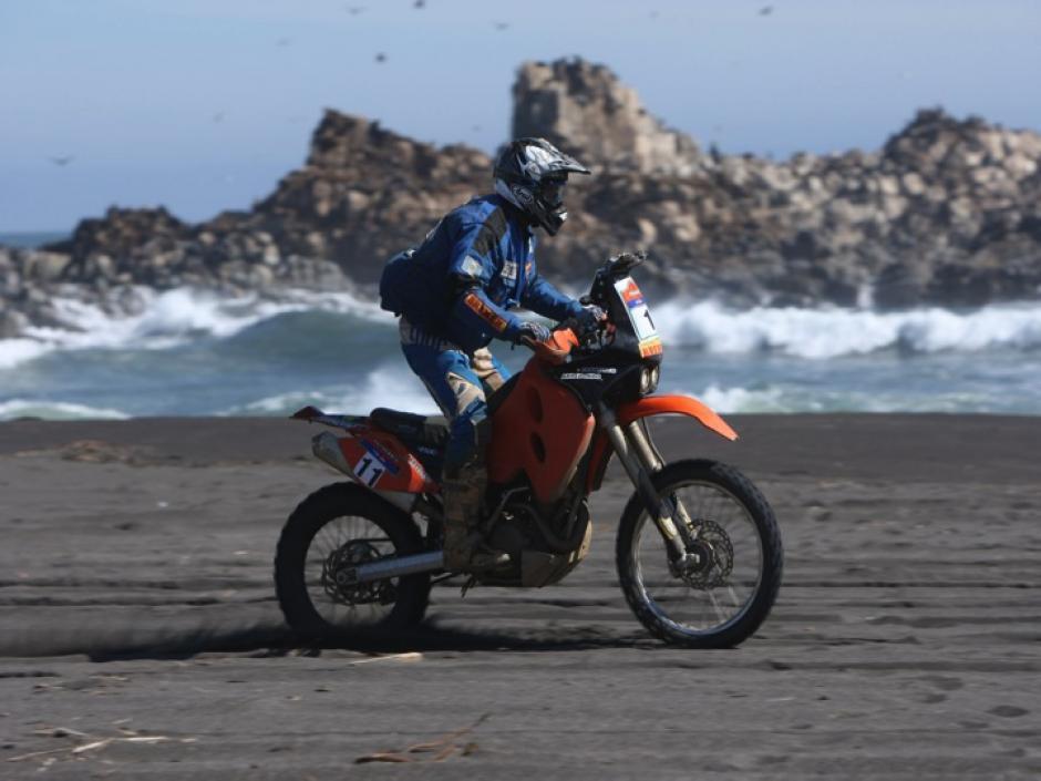 Francisco Arredondo se prepara a lo largo del año, pensando en llegar lo mejor preparado al Rally Dakar. (Luis Barrios/Soy502)