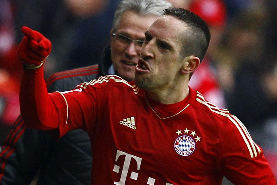 Franck Ribéry, actual jugador del Bayern Munich y la Selección de Francia, fue el finalista al Balón de Oro menos votado