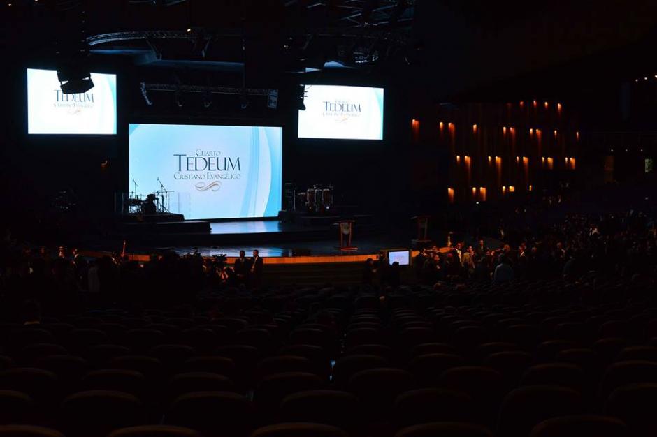 Esta es la panorámica del lugar donde se desarrolló el evento. (Foto: Jesús Alfonso/Soy502)