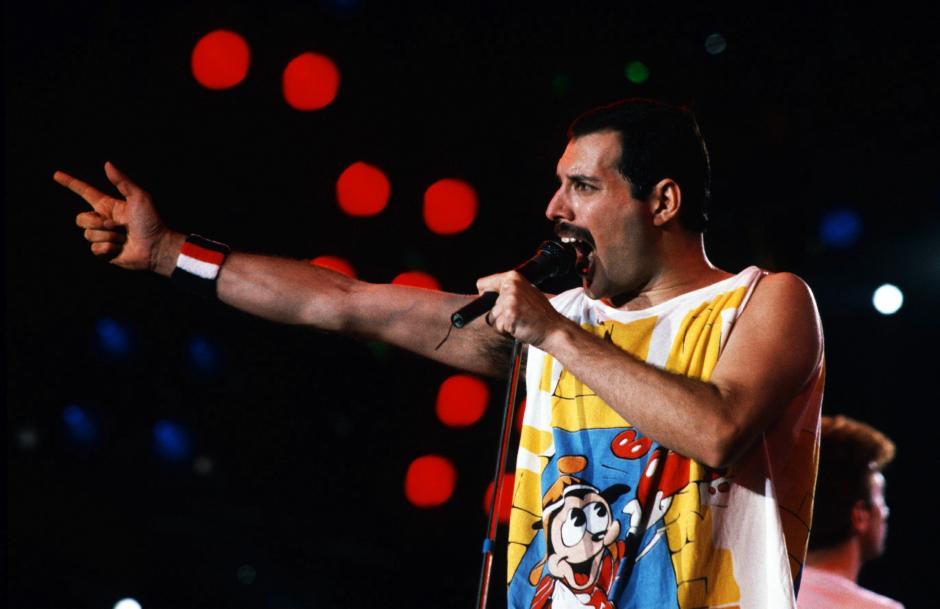 Freddie Mercury se mudó a Inglaterra huyendo de la revolución de Zanzíbar. (Foto: concierto)