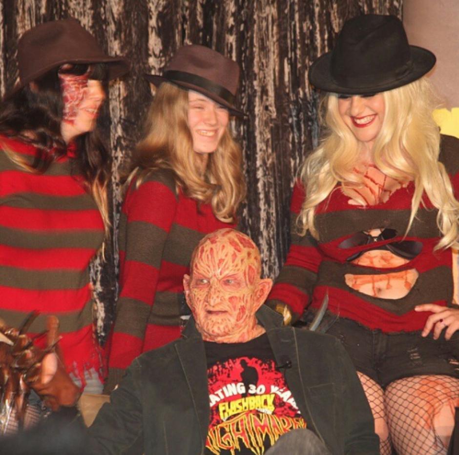 Los años han pasado y en el recuerdo sigue el rostro del temible Freddy Krueger. (Foto: Robert B. Englund/Instagram)