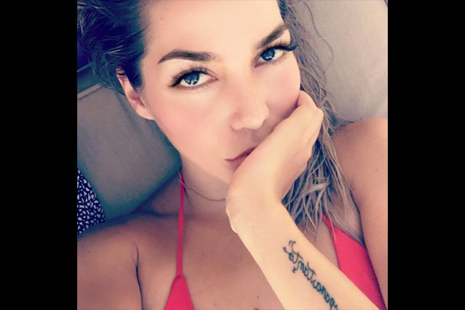 Frida es la única hija de la cantante Alejandra Guzmán. (Foto: Instagram)
