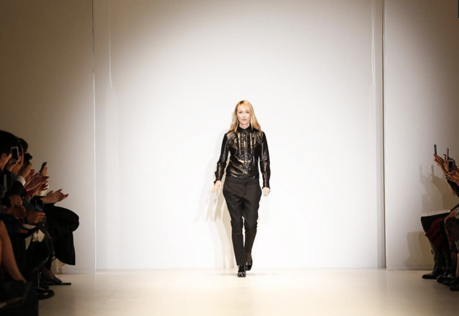 La diseñadora Frida Giannini presentó su colección otoño-invierno 2014, inspirada en los años 60 para Gucci. (Foto: NowFashion)