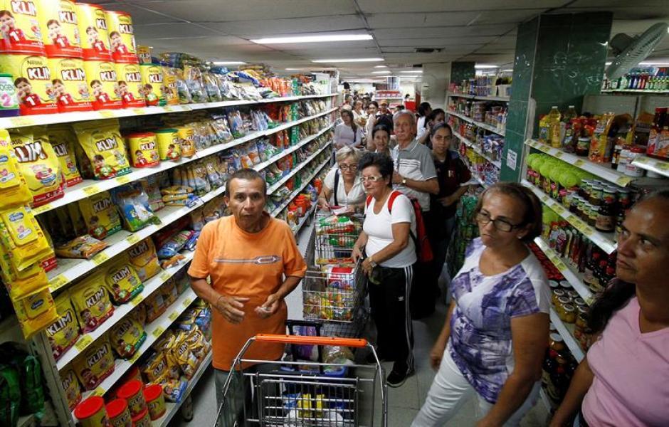 La crisis de alimentos se ha incrementado este año en Venezuela. (Foto: EFE)