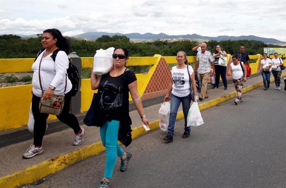 Las fronteras entre ambas naciones fueron cerradas el 19 de agosto de 2015. (Foto: EFE)