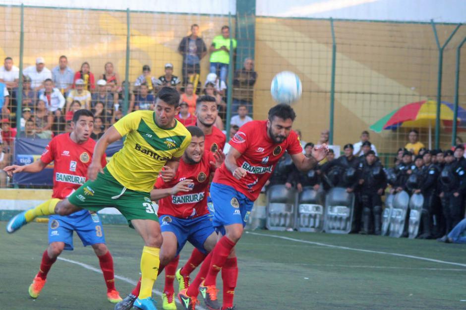 Los rojos se llevan los tres puntos a casa y se preparan para recibir a Carchá. (Foto: José Dávila/Soy502)