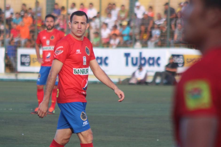 Marco Pappa entró en el segundo tiempo y se fue sin anotar. (Foto: José Dávila/Soy502)
