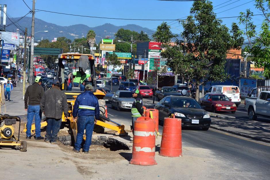 Varias colonias de ese sector se vieron afectadas por la suspensión de agua. (Foto: Jesús Alfonso/Soy502)