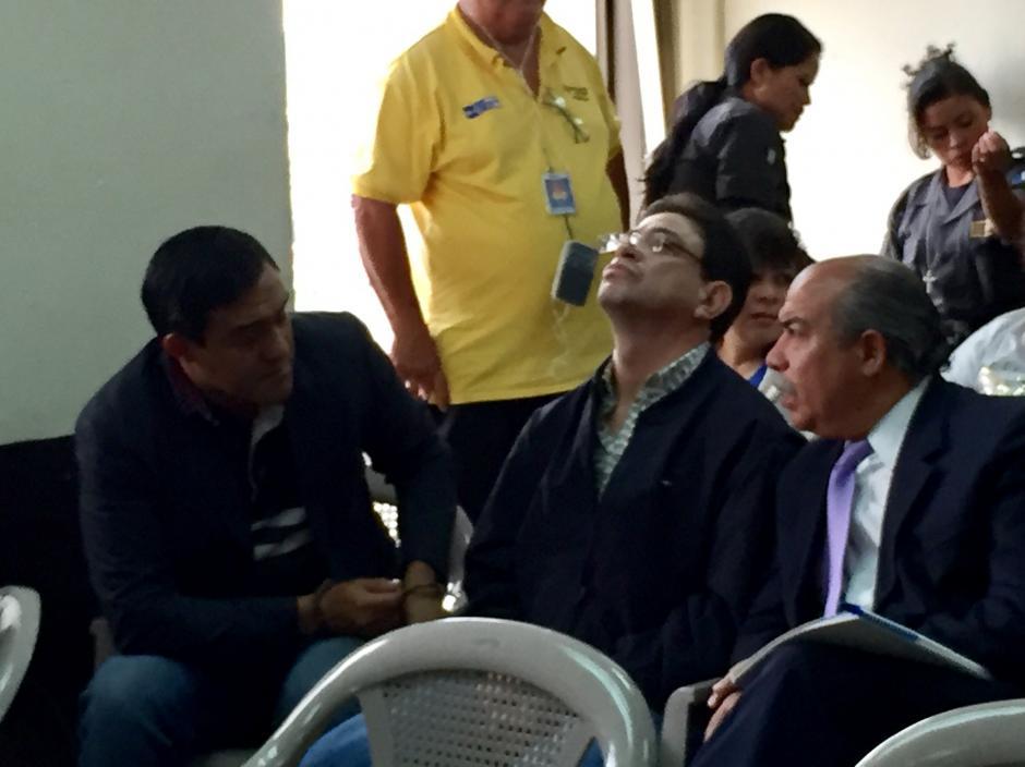 El hijo de la magistrada Blanca Stalling, es otro de los sindicados del caso IGSS-Pisa. (Foto: Evelyn de León/Soy502)