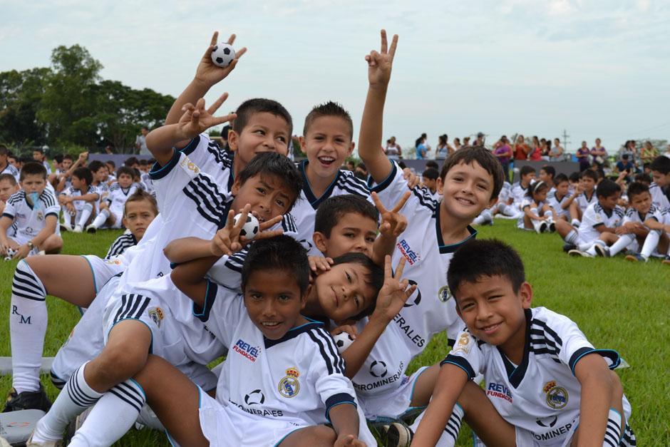 El Real Madrid buscará beneficiar niños de Argentina, Venezuela y Paraguay a través de su fundación