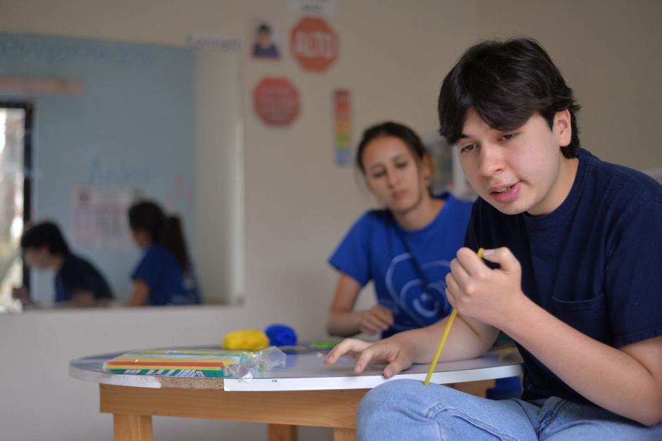 La asociación guatemalteca por el Autismo busca estimular el desarrollo emocional, intelectual, social de los niños con autismo. (Foto: Wilder López/Soy502)