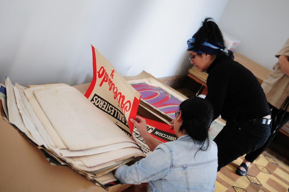 Cada material pasa por un proceso de rescate y restauración. (Foto: Alejandro Balán/Soy502)