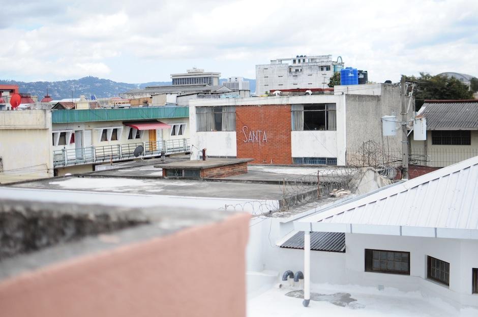 En la terraza de esta casa se puede apreciar la ciudad. (Foto: Alejandro Balán/Soy502)