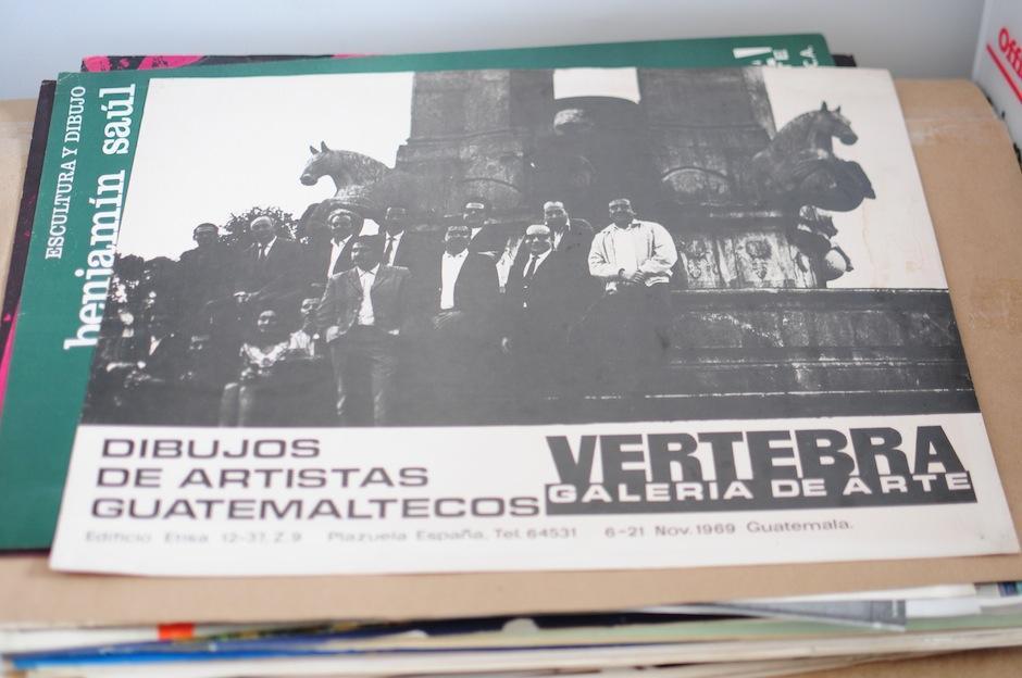 Piezas invaluables cuentan la historia del arte guatemalteco. (Foto: Alejandro Balán/Soy502)