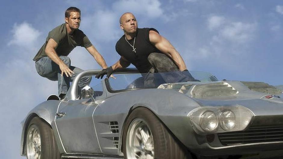 Paul Walker y Vin Diesel son los actores más queridos por los fans de Rápido y Furioso. (Foto: Twitter)
