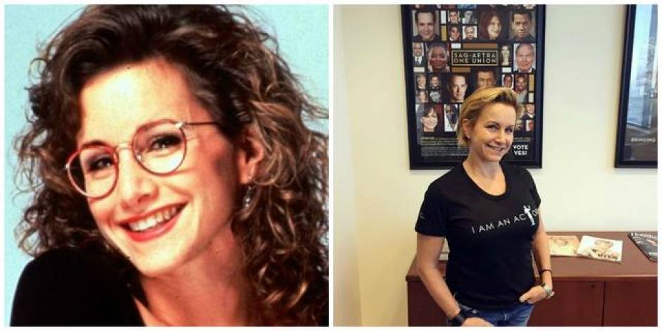 """Gabrielle Carteris interpretaba a """"Andrea Zuckerman"""". (Foto: El Salvador.com)"""
