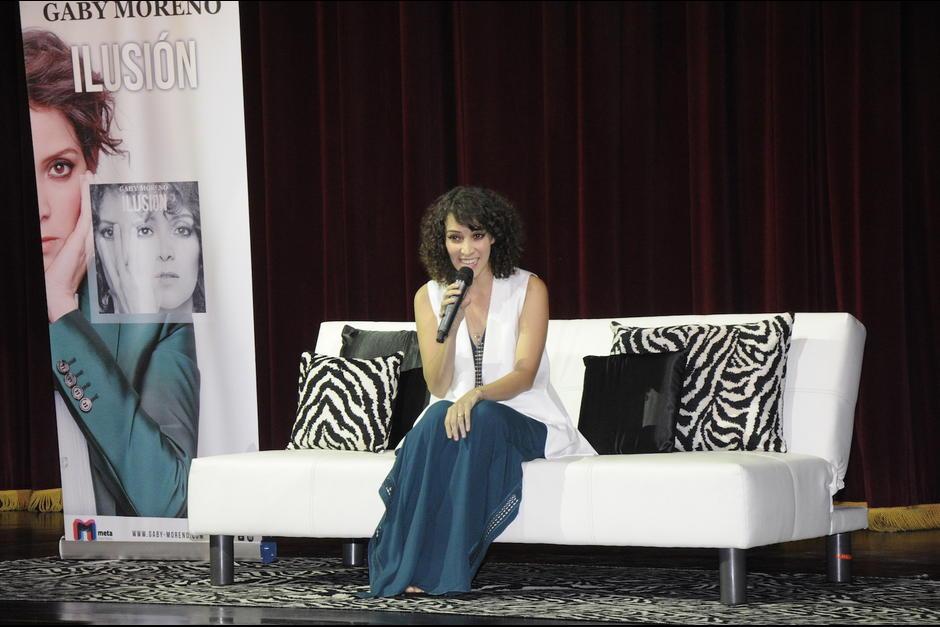 """En septiembre presentó su nuevo álbum """"Ilusión"""" en Guatemala. (Foto: Archivo/Soy502)"""