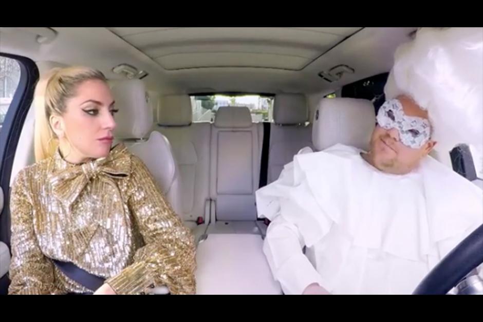 Gaga confesó algunas cosas durante el recorrido. (Imagen: captura de YouTube)