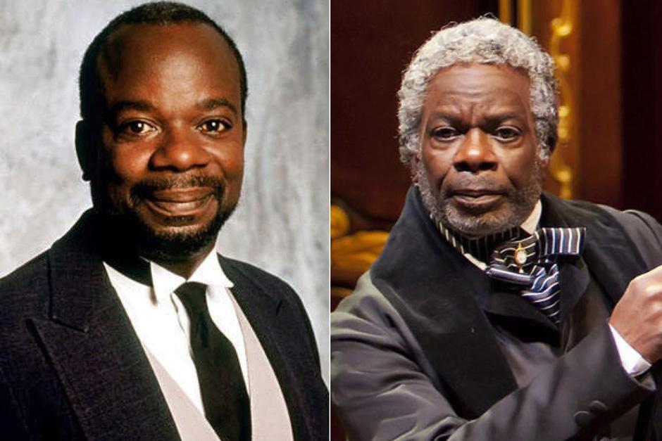 Joseph Marcell era el mayordomo, Geoffrey. Siguió actuando en televisión hasta 2008 y también en teatros. Actualmente forma parte del consejo de administración del Globe Theater y tiene 66 años. (Foto: diarioadn.co)