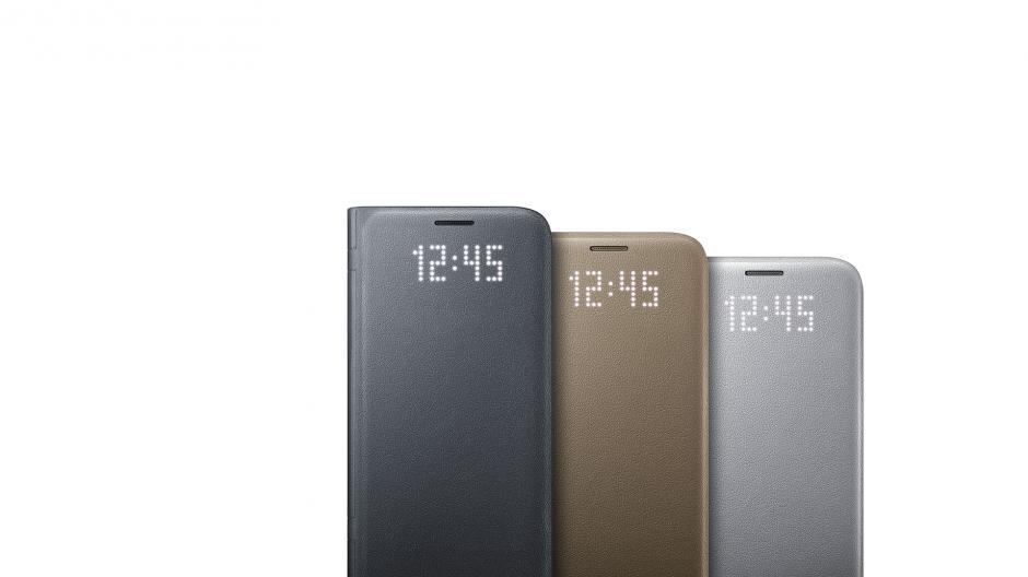 Una funda protectora resalta la elegancia de las líneas del Galaxy S7 y S7 edge. (Foto: Samsung)