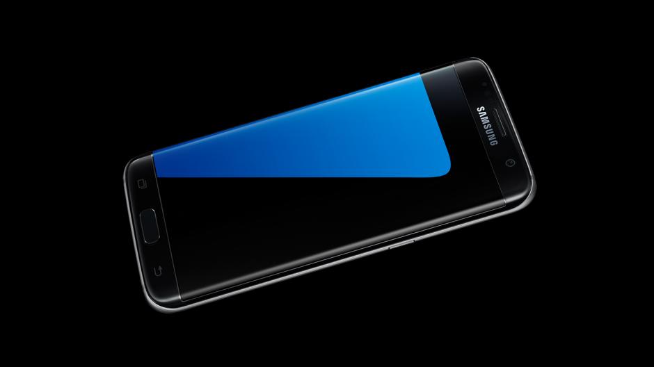 El nuevo Samsung S7 cuenta con suaves acabados que permiten un mejor manejo. (Foto: Samsung)