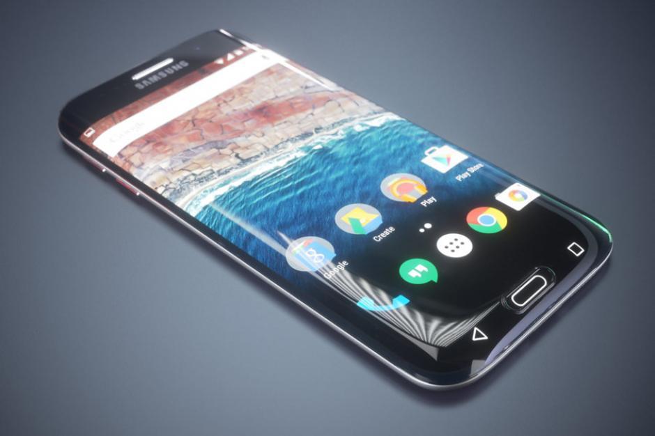 El Samsung S7 Edge, tendrá 4 GB de RAM y 32 GB de almacenamiento. (Foto: androidzone.com)
