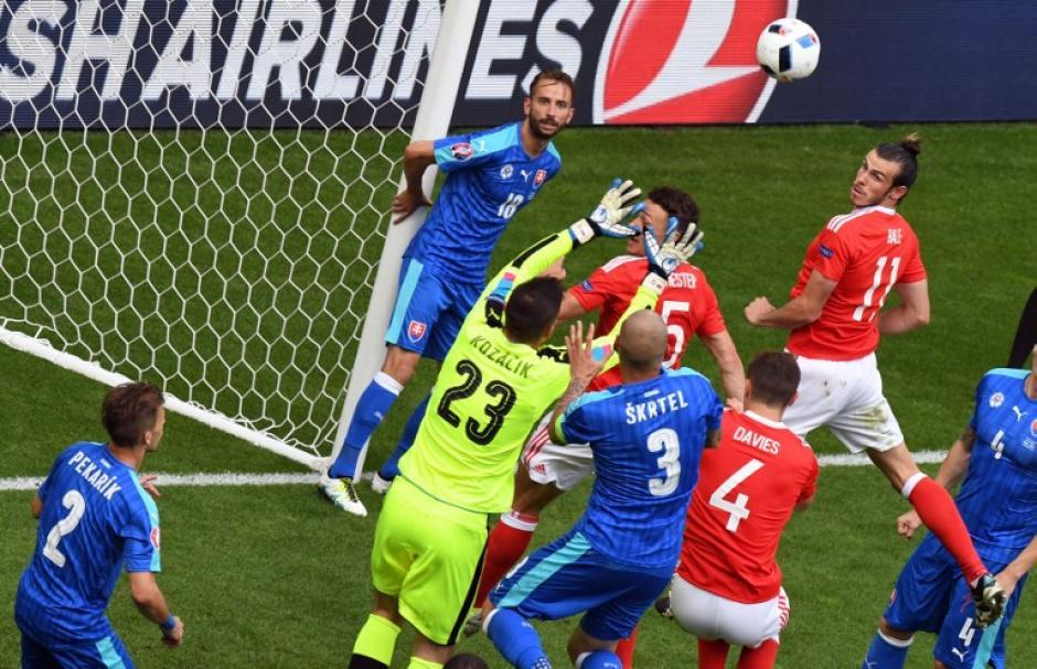 Gales ocupa de momento, el primer lugar del Grupo B, de la Euro. (Foto: AFP)