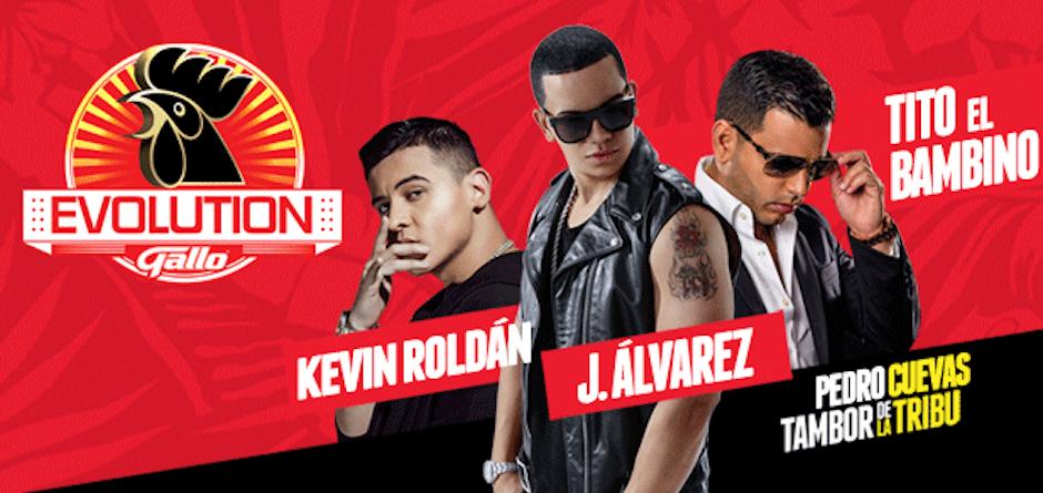 Roldán actuará junto a J. Álvarez y Tito El Bambino. (Foto: gallo Evolution)