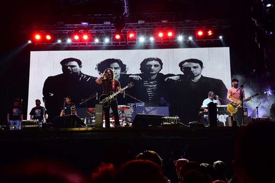 """""""El Tambor de la Tribu"""" dio un excelente show. (Foto:Abner Salquero/Nuestro Diario)"""