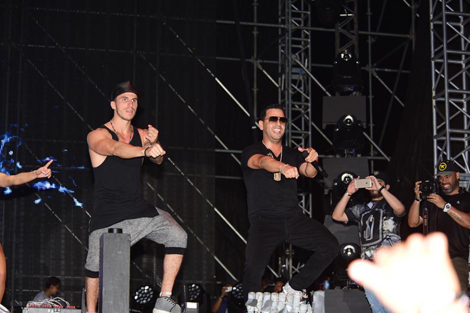 La música del cantante puertorriqueño alegró el espectáculo. (Foto:Abner Salquero/Nuestro Diario)