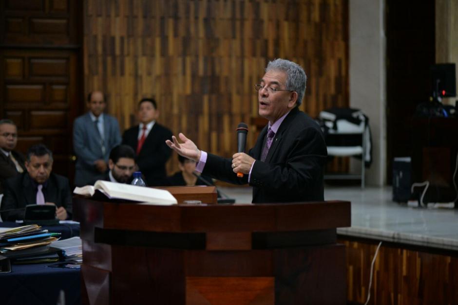 Gálvez dio sus argumentos para no enviarlos a prisión. (Foto: Wilder López/Soy502)