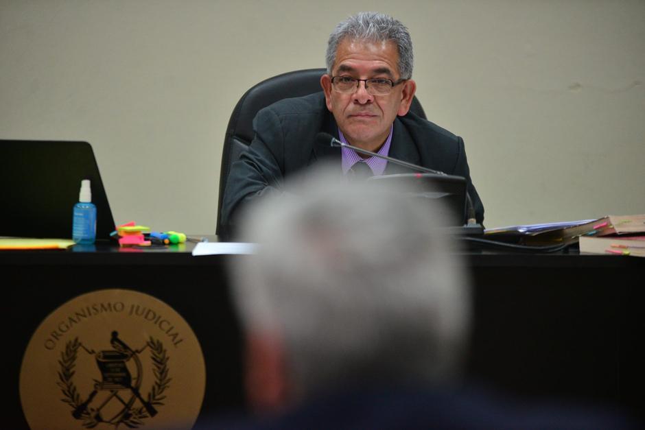 El juez Miguel Ángel Gálvez, titular del juzgado B de Mayor Riesgo, es quien conoce el caso TCQ. (Foto: Archivo/Soy502)
