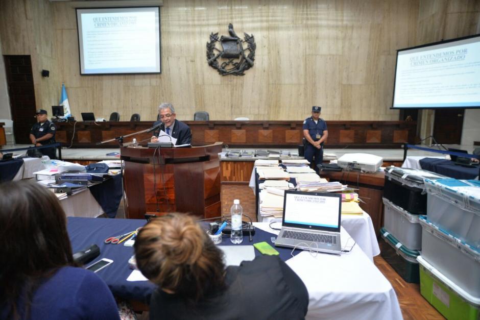 Así se ve la sala de vistas de la Corte Suprema de Justicia. (Foto: Wilder López/Soy502)