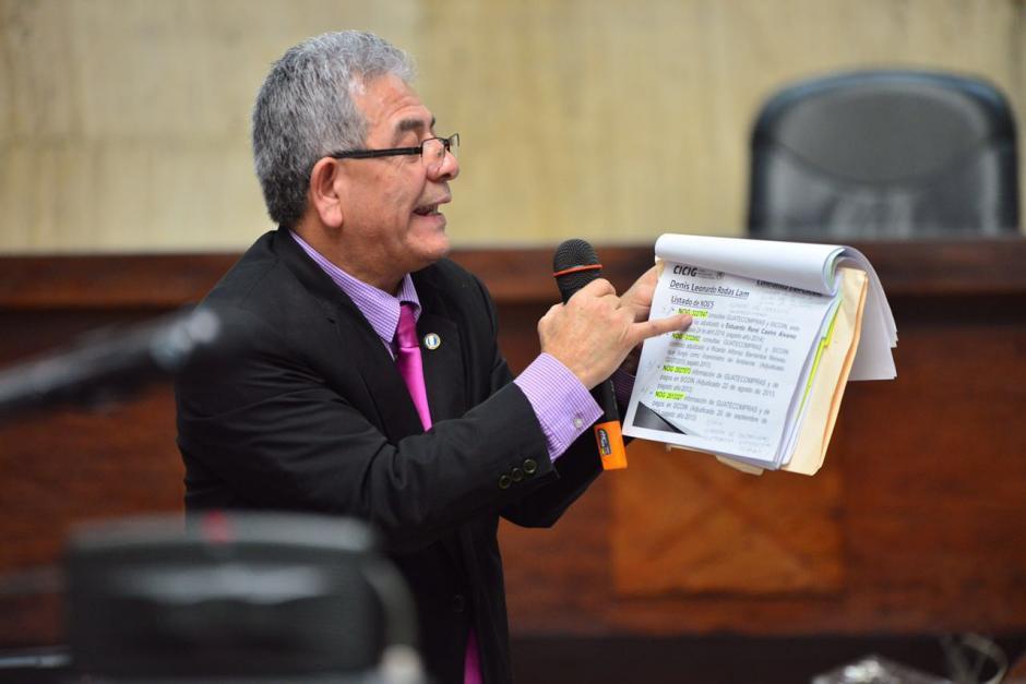 """Una frase de las más usadas por Gálvez es """"me llama la atención"""". (Foto: Jesús Alfonso/Soy502)"""