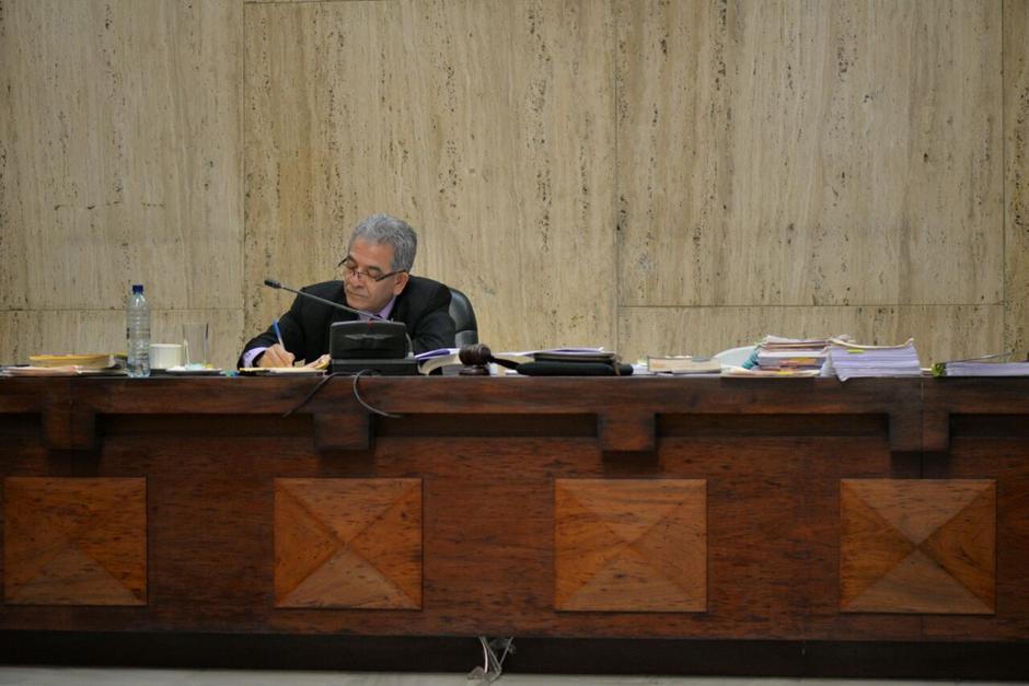 El Juez Miguel Ángel Gálvez decidirá este jueves si liga a proceso a los 57 implicados. (Foto: Archivo/Soy502)