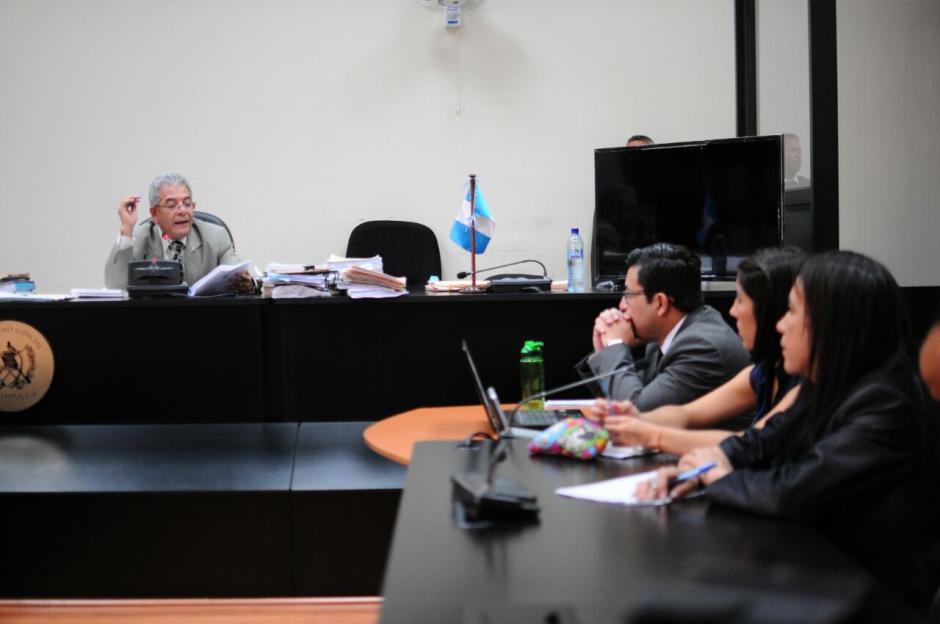 El juez Miguel Ángel Gálvez continuará con el caso Cooptación del Estado. (Foto: Alejandro Balan/Soy502)