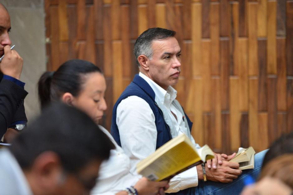 Juan De Dios Rodríguez escucha la audiencia. (Foto: Jesús Alfonso/Soy502)