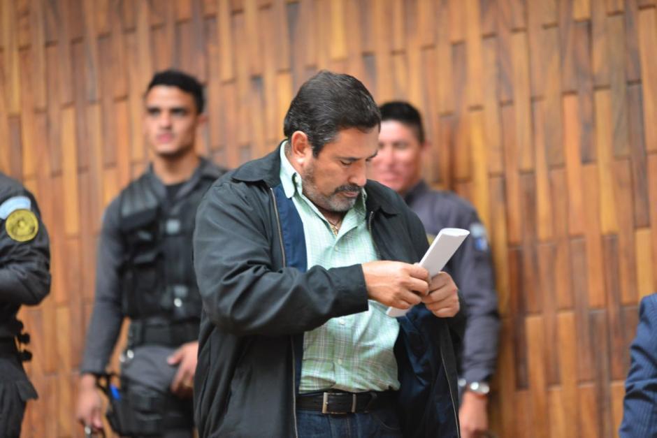 El exministro de la Defensa, Ulises Anzueto. (Foto: Jesús Alfonso/Soy502)