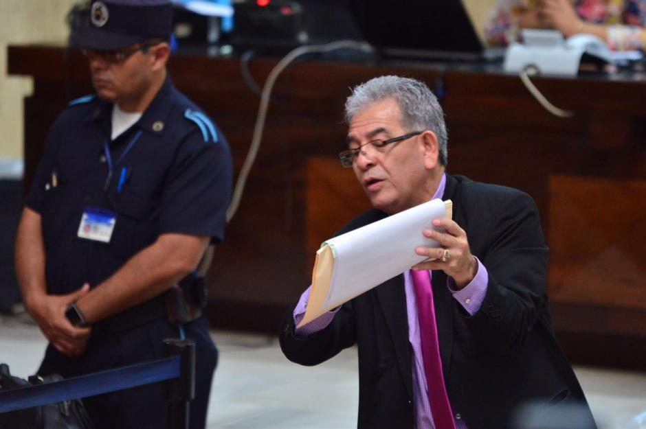 En el caso Cooptación del Estado son 57 implicados. (Foto: Jesús Alfonso/Soy502)