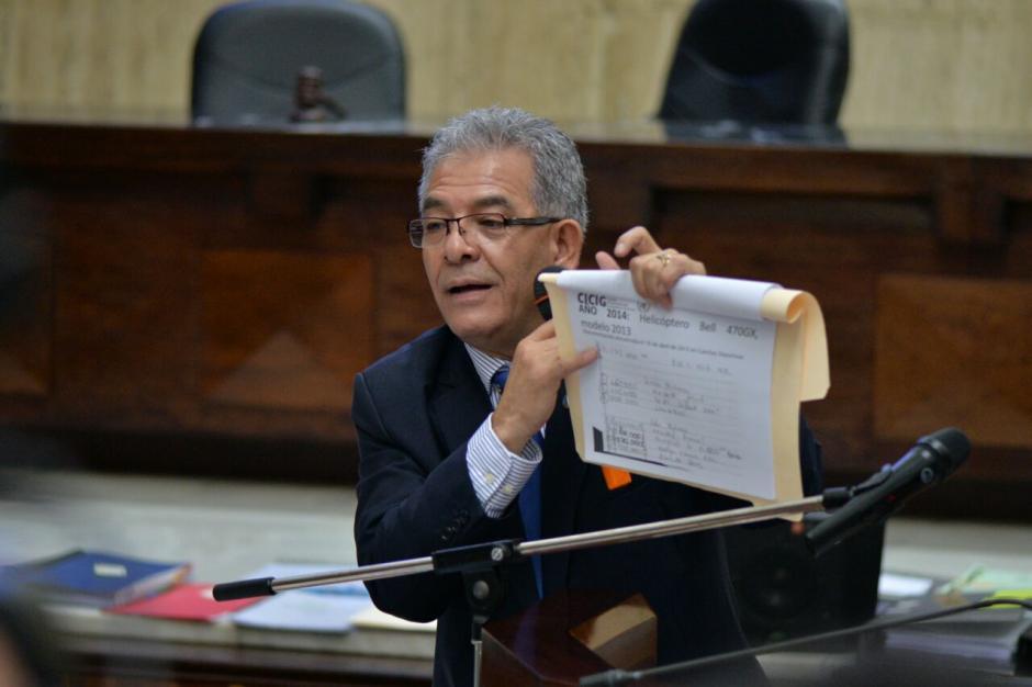 Tomó grupos del caso para referirse a cada uno de ellos. (Foto: Wilder López/Soy502)