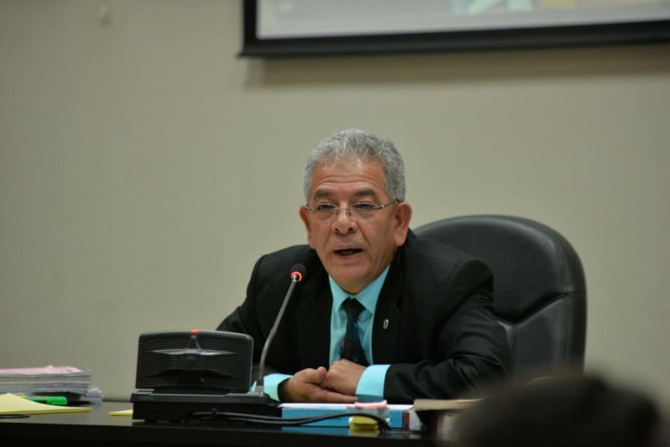 Acusó al juez Gálvez de retrasar el proceso de La Línea. (Foto: Wilder López/Soy502)
