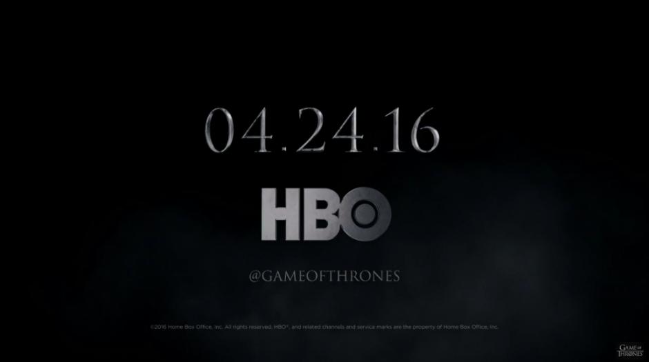 La sexta temporada debuta el 24 de abril.